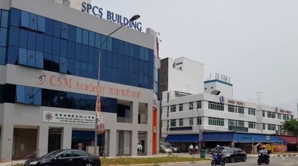 Cơ sở chính tại tòa nhà SPCS