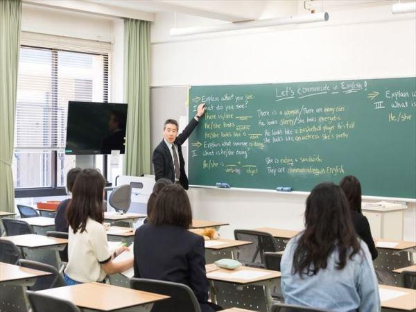 Một giờ học tại đại học Keisen