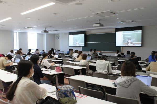 Một giờ học tại đại học Niigata Seiryo