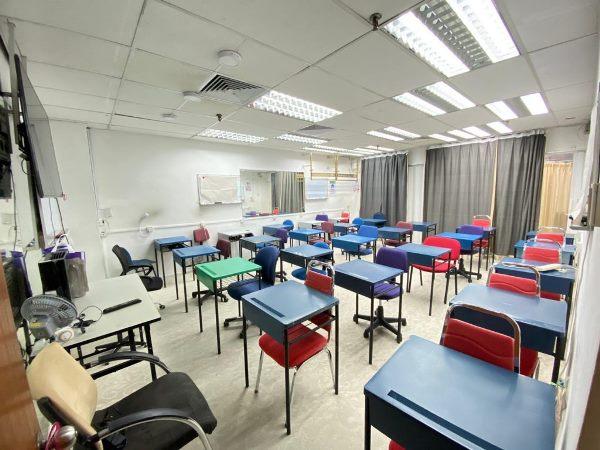 Một lớp học tại trường