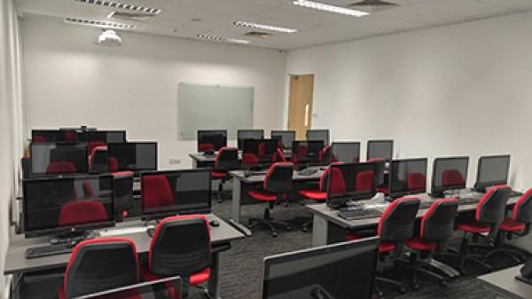 Một phòng học tại học viện
