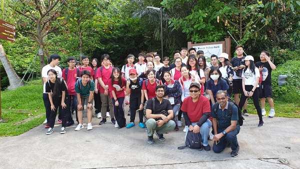 Sinh viên học viện SSTC tham gia hoạt động ngoại khóa