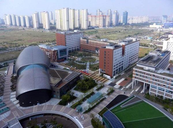 Toàn cảnh trường Đại học Ghent cơ sở quốc tế Hàn Quốc